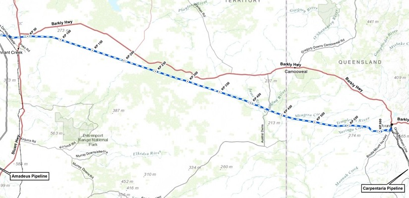 Jemena was one of two bidders to propose an east-west pipeline. Graphic: Jemena