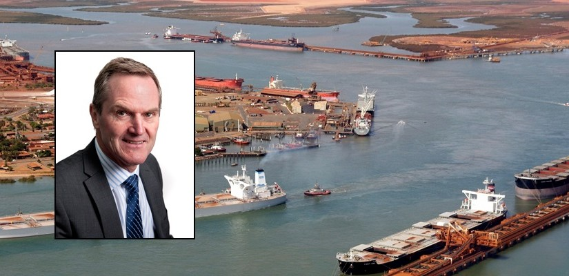 Fortescue executive director Peter Meurs. Photo: Southern Cross Maritime / FMG